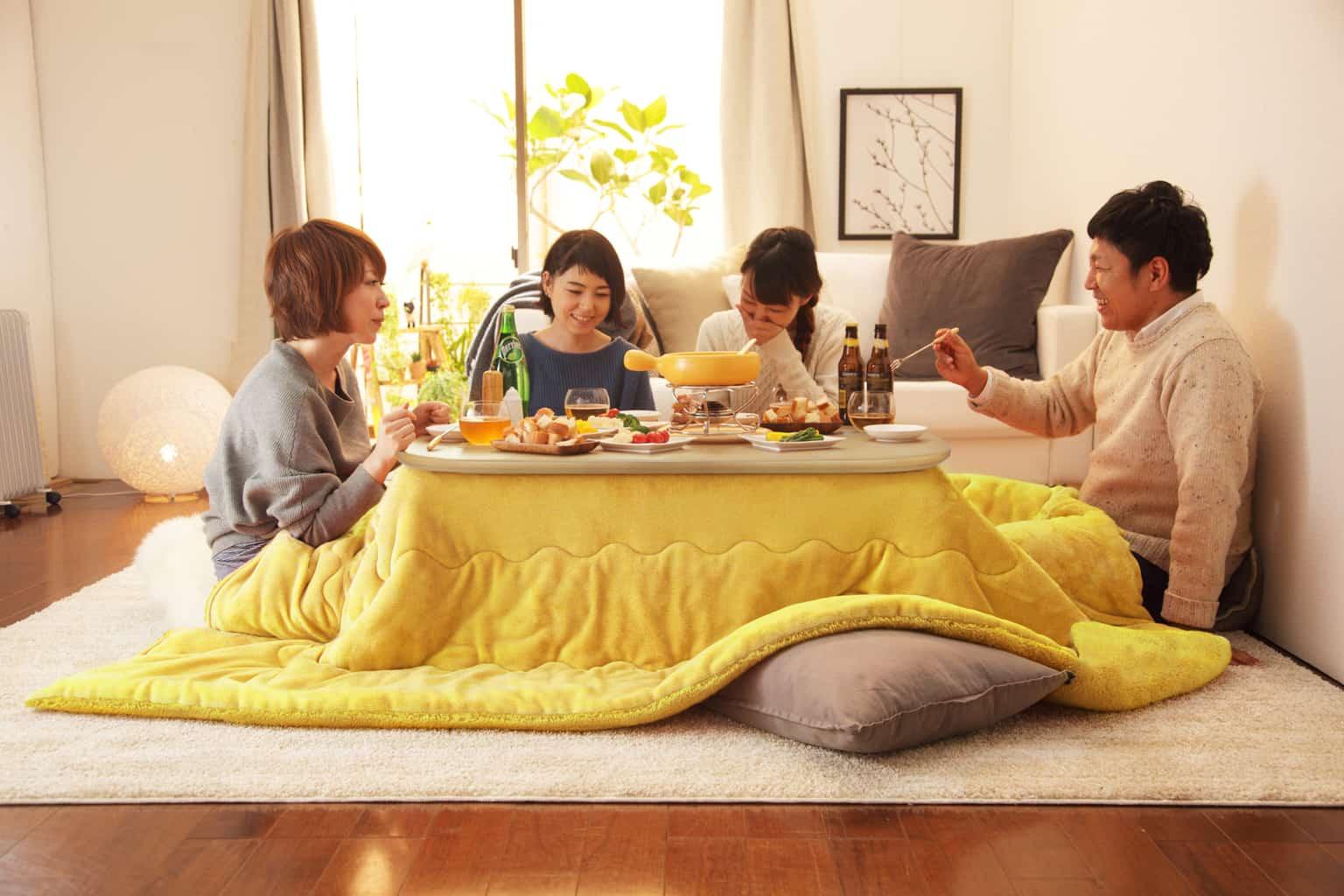 In famiglia sul Kotatsu