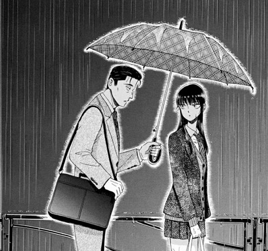 Come dopo la pioggia scene nel manga