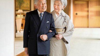 L'imperatore Akihito, salito al potere nel 1989