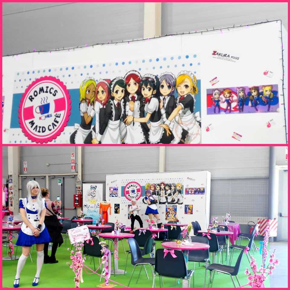 Location maid cafe romics