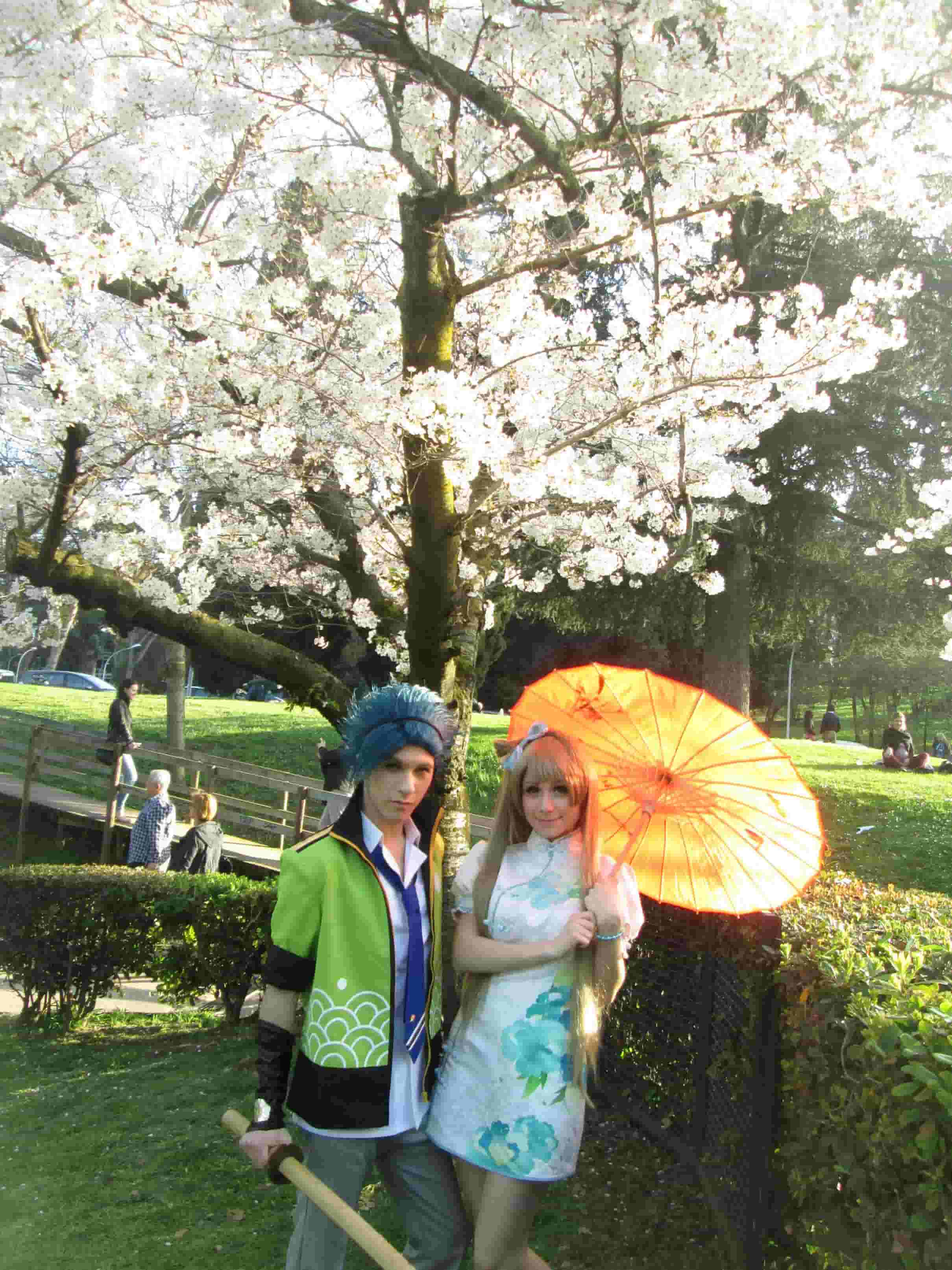 Cosplay all'Eur a Roma