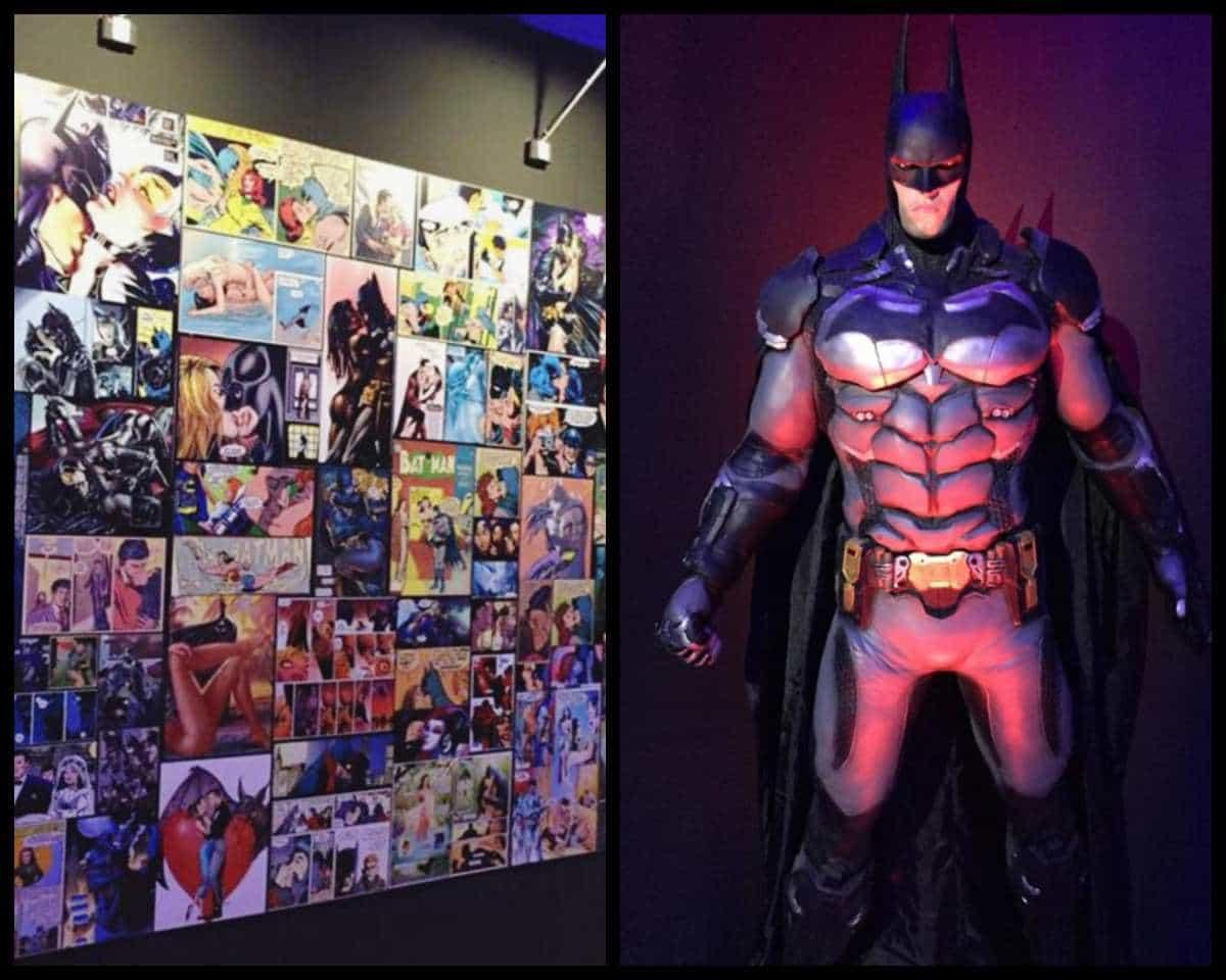 Mostra Long Live Batman Romics 2019
