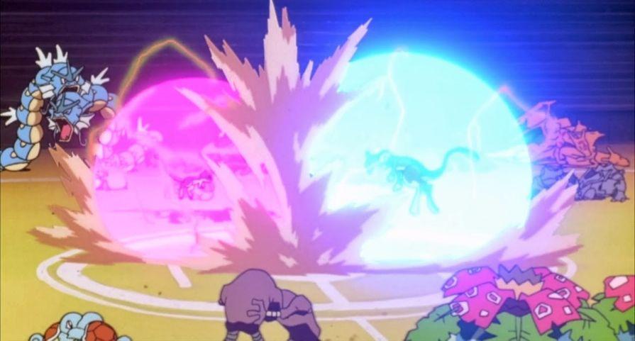 Mewtwo contro Mew