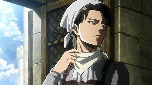Levi Ackerman cleaning