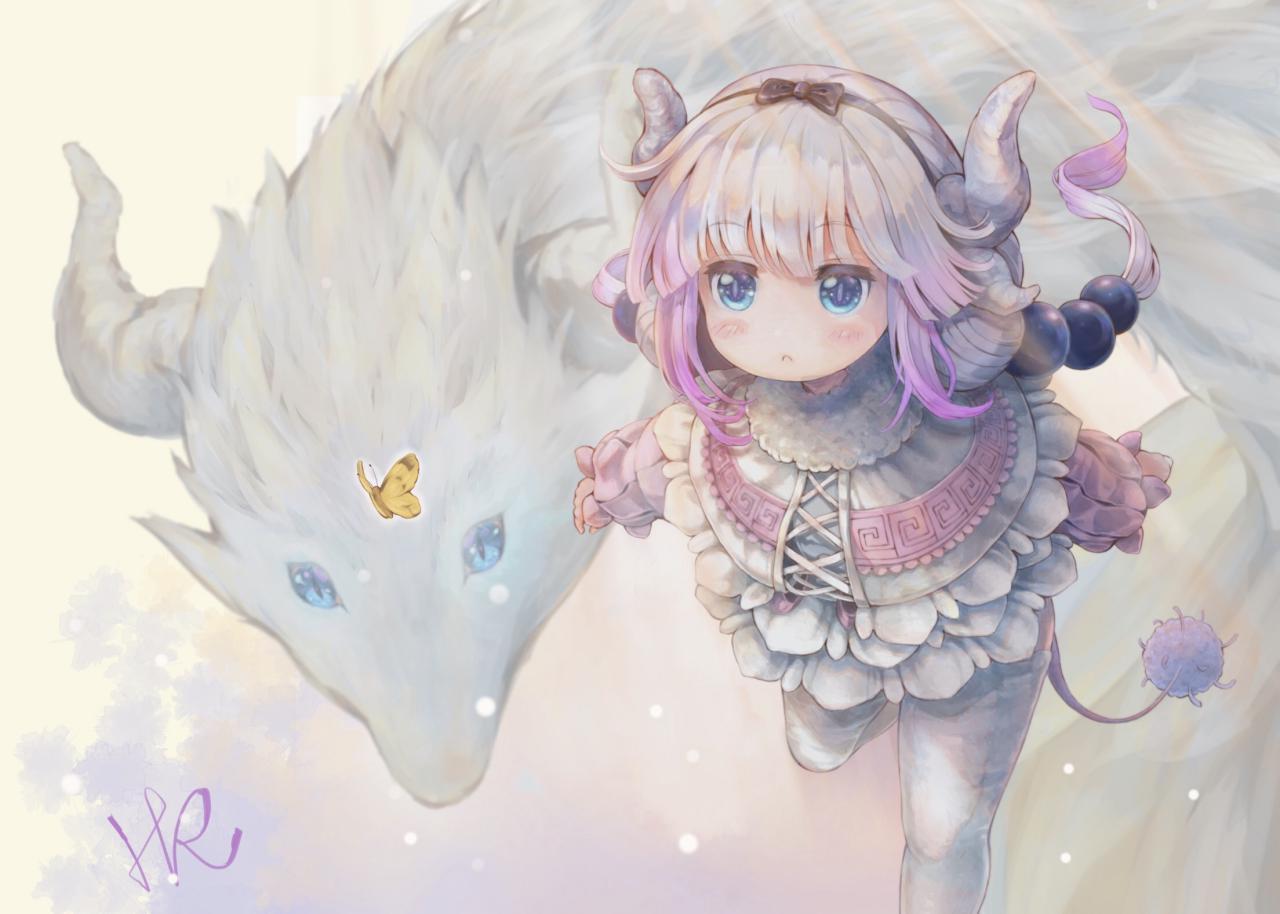 Kanna forma umana e drago