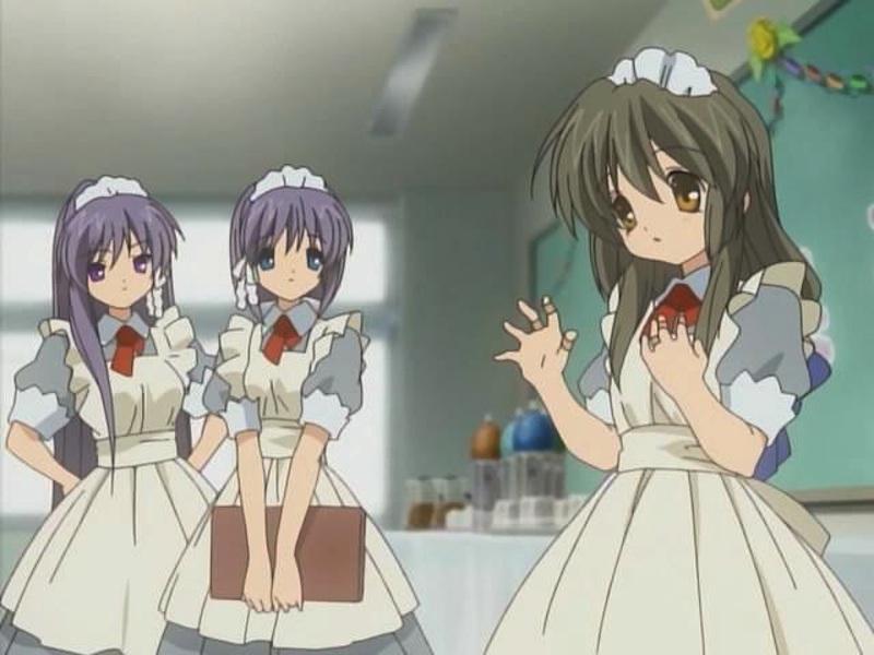 maid di Clannad