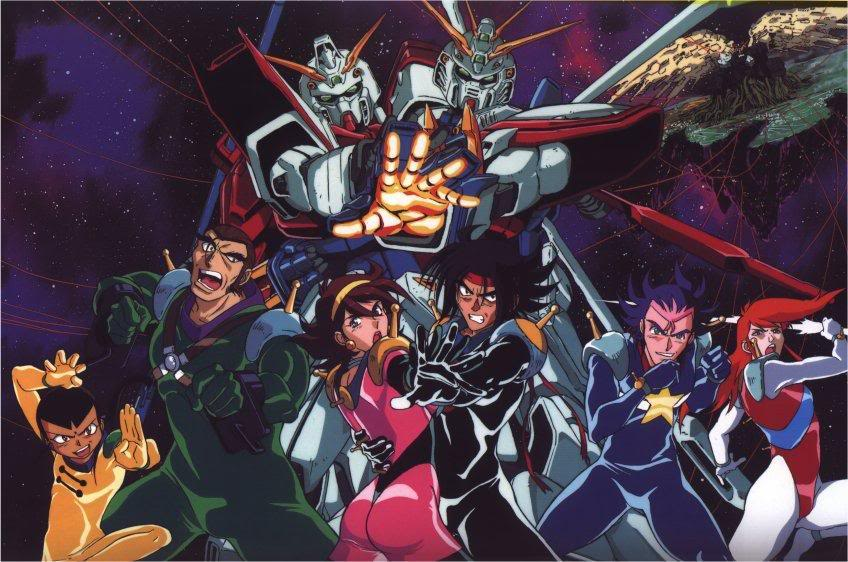 franchise Gundam - mobile fitgher g gundam