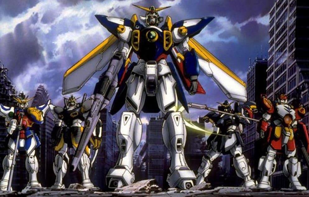 franchise Gundam - Gundam wing