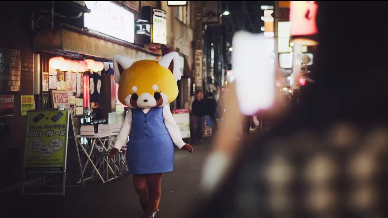 mascotte retsuko per le strade di tokyo