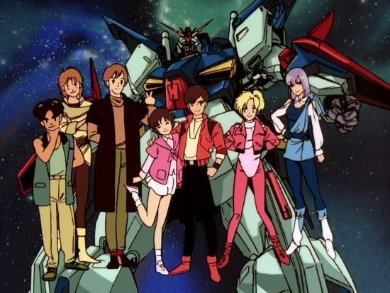 franchise gundm - mobile suit Gundam zz