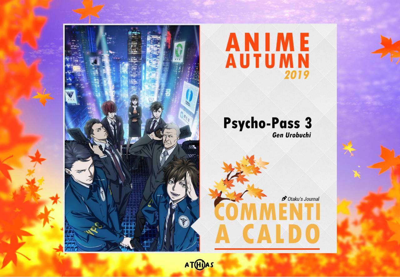 Prime impressioni Psycho Pass 3