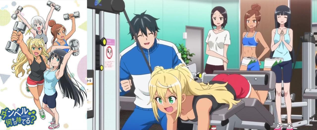 edutainment anime: dumbbell nan kilo moteru