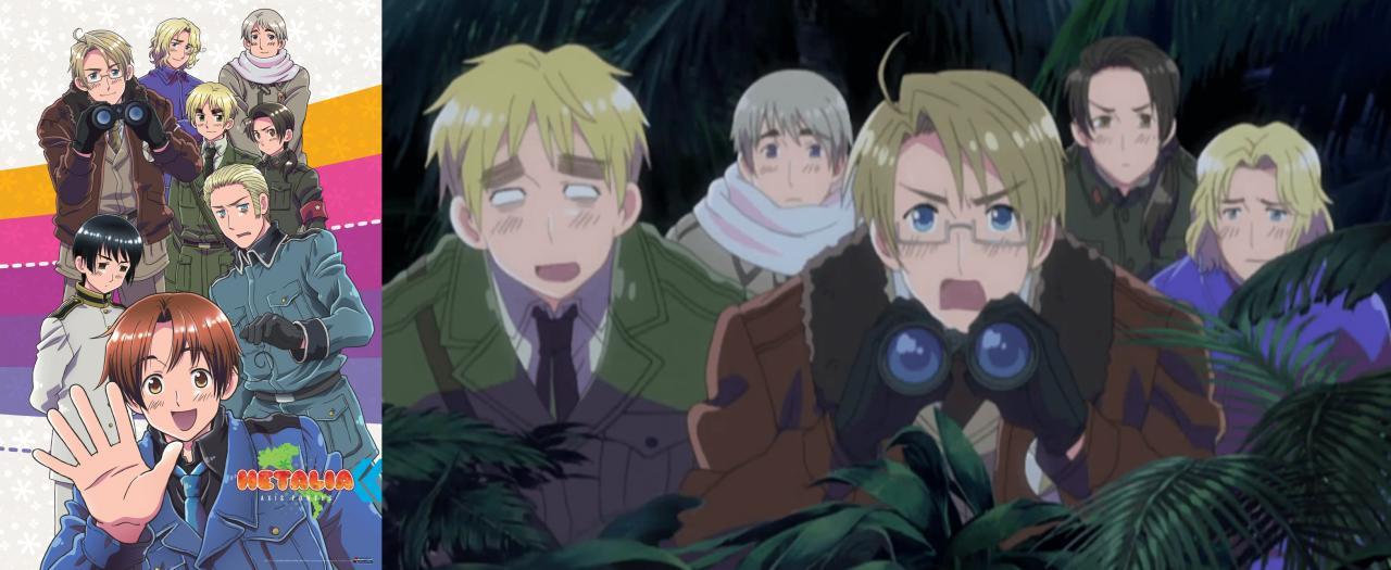edutainment anime: Hetalia axis powers