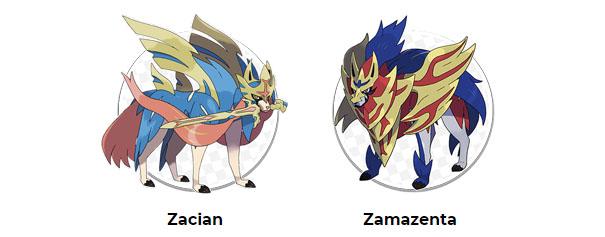 Pokémon leggendari della regione di Galar