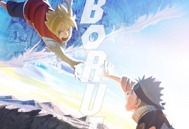 Boruto e Naruto si incontrano da giovani.