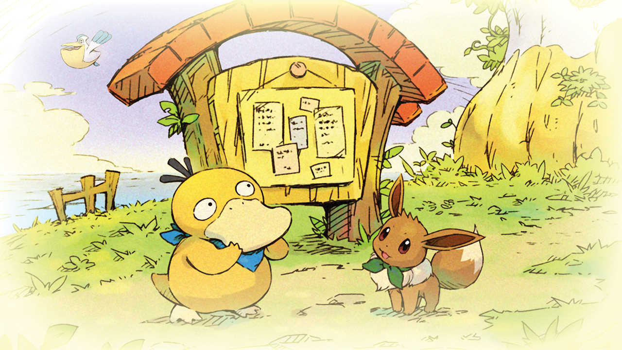 Artwork di Pokémon Mystery Dungeon: Rescue Team DX
