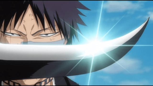 scontri di bleach - shuhei vs findorr