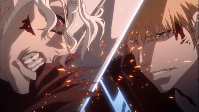 scontri di bleach - ichigo vs ginjo