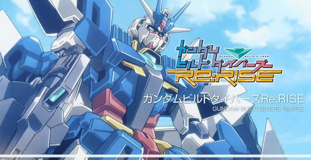 Gundam Build Divers Re:RISE cover