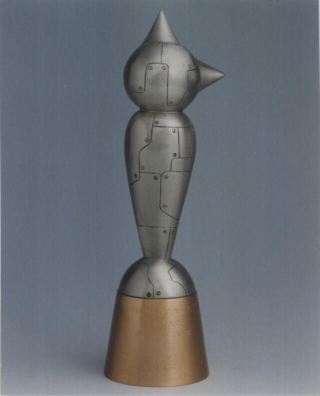 Premio Tezuka statuetta
