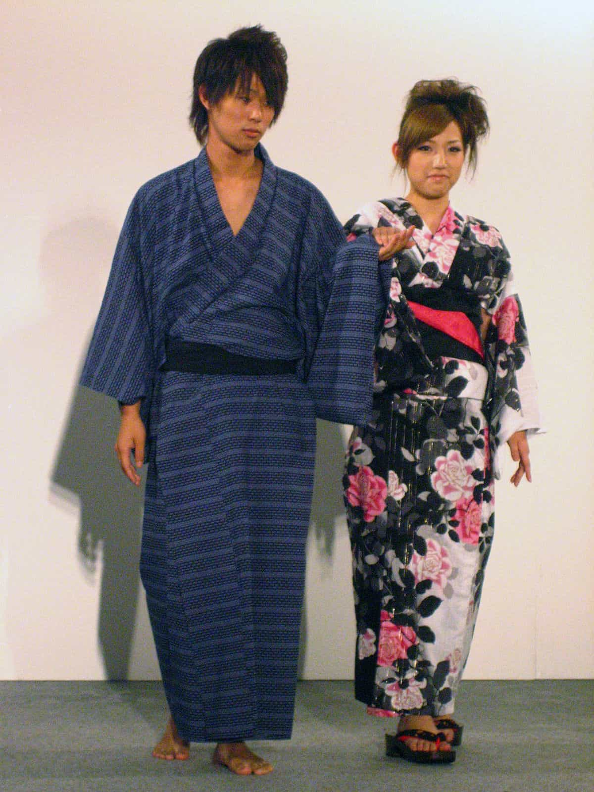 Yukata uomo e donna
