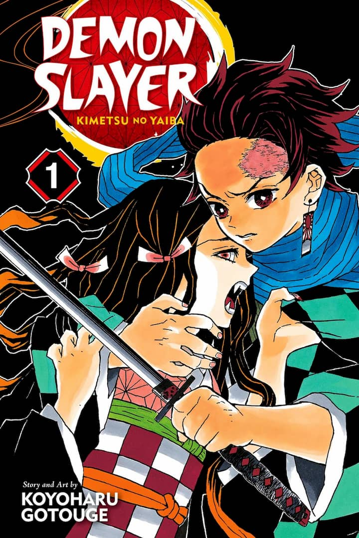 Demon Slayer manga copertina