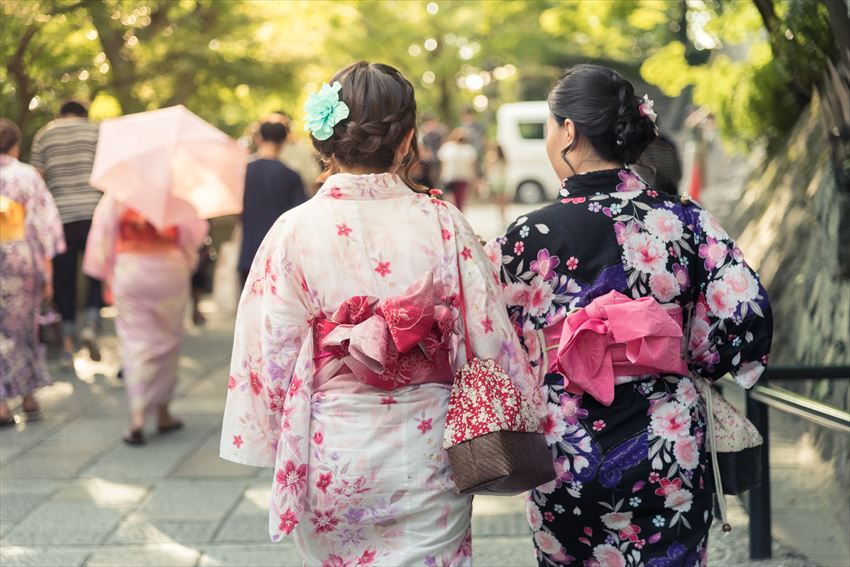 Kimono e yukata