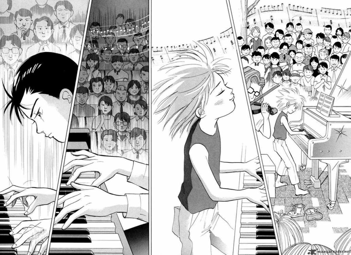 Piano no Mori manga