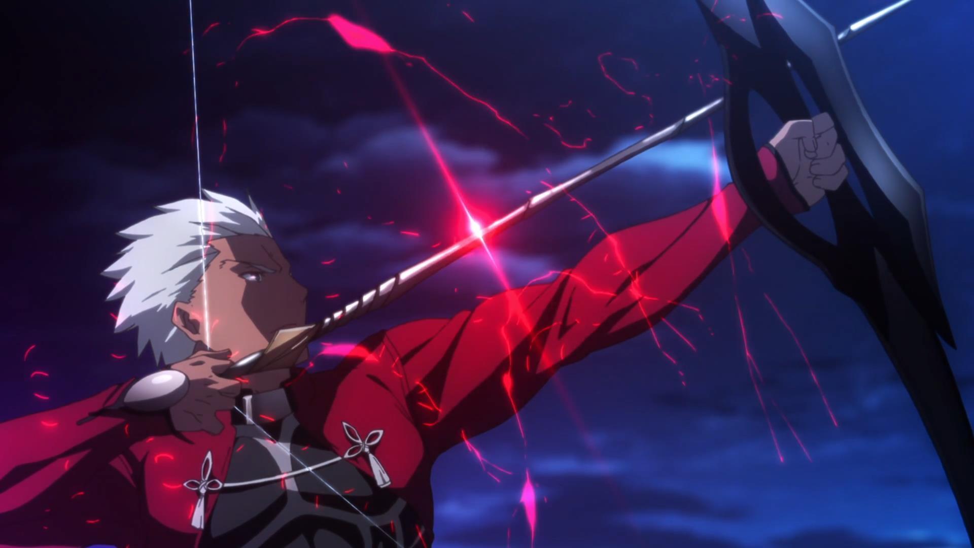 arcieri negli anime - archer