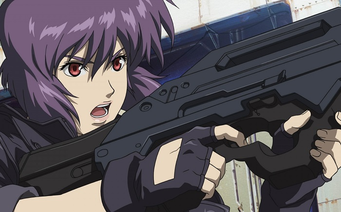 opening anime - ghost in the shell