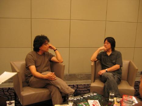 Bong Joon-ho e Naoki Urasawa