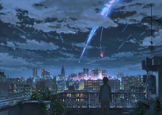 Taki che osserva il passaggio della meteora