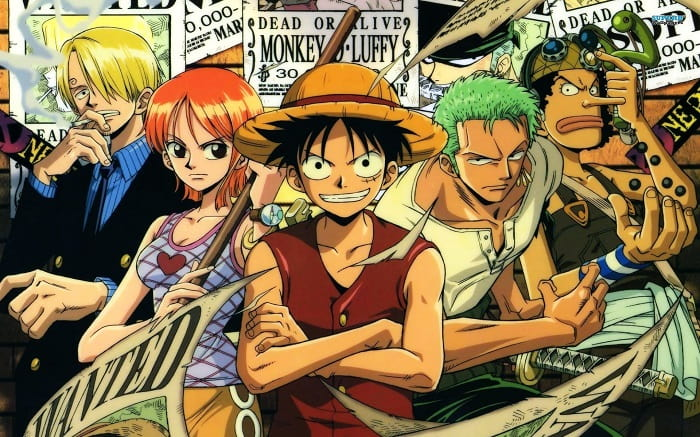 opening anime - one piece