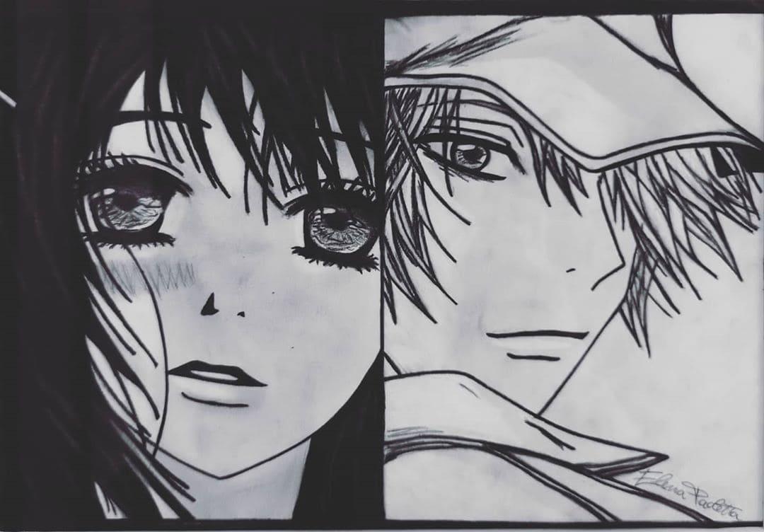 Teru & Kurosaki disegno fanmade