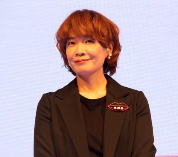 Foto di Yamazaki Mari alla presentazione della Netflix Anime Lineup 2021 (C) ORICON News