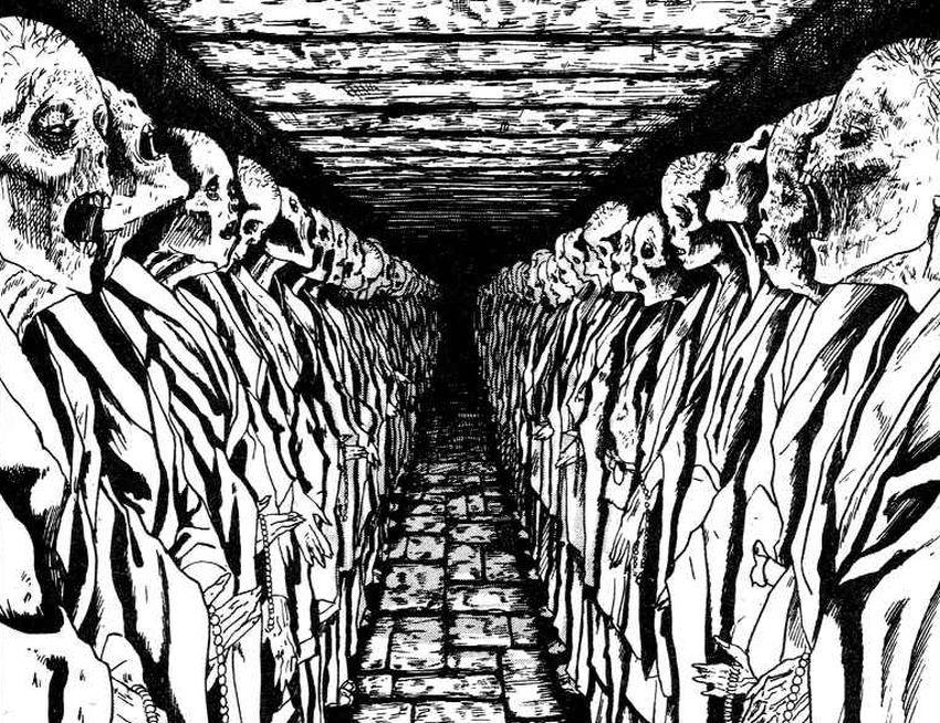 Labirinto, Junji Ito